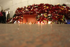 2010 Moscow Metro bombings Stock Photography