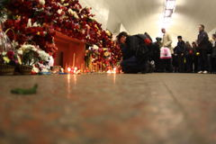 2010 Moscow Metro bombings Stock Image