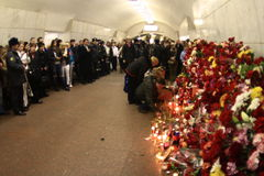 2010 Moscow Metro bombings Royalty Free Stock Photos