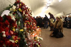 2010 Moscow Metro bombings Royalty Free Stock Image