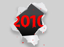 2010 new year. 2010 illustration. ai file also available Royalty Free Stock Photos