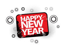 2010 new year. 2010 illustration. ai file also available Vector Illustration