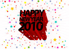 Happy New Year illustration Royalty Free Stock Images