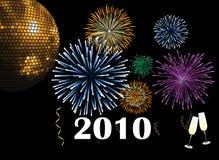 2010 new year Στοκ Εικόνες