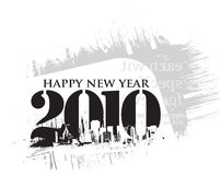 2010 new year vector design Royalty Free Stock Images