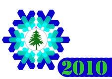 2010 novo Imagens de Stock Royalty Free