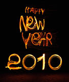 2010 nuovi anni felici Immagini Stock