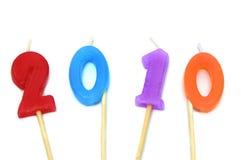 2010, nuovo anno Fotografie Stock