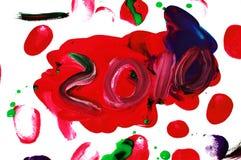 2010 nya år Fotografering för Bildbyråer