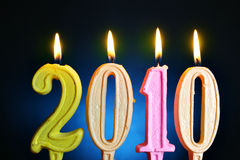 2010 nya år Arkivfoton