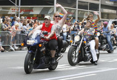 2010 NYC gay pride parade Stock Photo