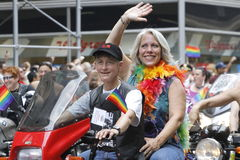 2010 NYC homosexuelle Stolzparade Stockfoto
