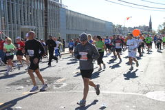 2010 NYC Marathon Lizenzfreies Stockbild