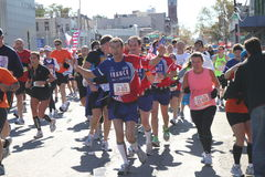 2010 NYC Marathon Royalty Free Stock Images