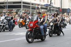 2010 NYC vrolijke trotsparade Royalty-vrije Stock Foto's