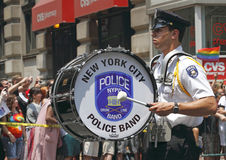 2010 NYC vrolijke trotsparade Stock Afbeelding