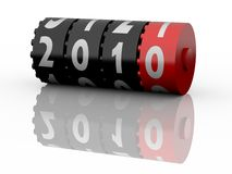 2010 Odometer. New Year 2010. Calendar Series. More concept illustrations available Stock Photos