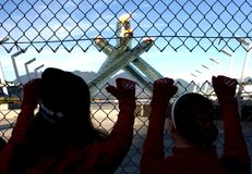 2010 Olympic Cauldron Stock Photos