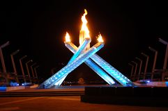 2010 Olympic Cauldron Royalty Free Stock Image