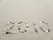 2010 On Beach Stock Photo
