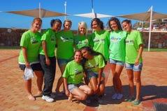 2010 południowi Africa ironkids Obrazy Stock