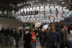 2010 powystawowych expo Moscow photoforum Fotografia Stock