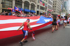 2010 Puerto Rican Day Parade Stock Photography