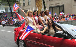2010 Puertorikaner-Tagesparade Stockfoto