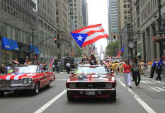 2010 Puertorikaner-Tagesparade Stockfotos