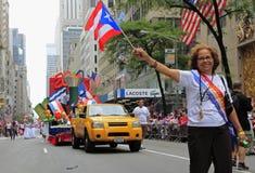 2010 Puertorikaner-Tagesparade Lizenzfreie Stockbilder