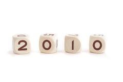 2010 rok Zdjęcie Stock