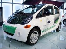 2010 samochodowego pojęcia elektrycznych Mitsubishi pojazdów Zdjęcia Royalty Free