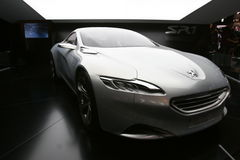 2010 samochodowych pojęć Peugeot sr1 Obraz Stock