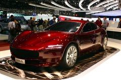 2010 samochodu d e Geneva ja ustanawiam motorowego przedstawienie Zdjęcia Stock