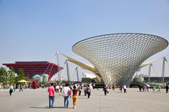 2010 shanghai expo china Pavilion Royalty Free Stock Images