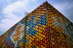 2010 Shanghai Expo Serbia Pavilion Royalty Free Stock Photography