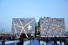 2010 shanghai expo Sweden Pavilion Stock Photos