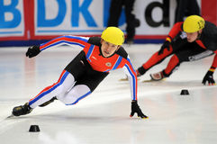 2010 Short track European championship Royalty Free Stock Images