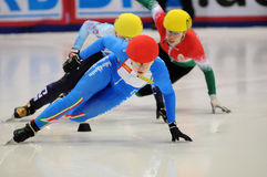 2010 Short track European championship Stock Photography