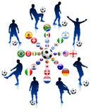 2010 Soccer Football Match. Soccer Football Match Stock Photo