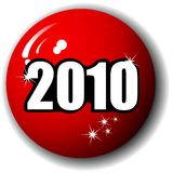 2010 Special 3-D Sphere Vector. New Year 2010 Special High Quality 3-D Sphere Vector Royalty Free Stock Photos
