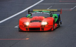 2010 supercar race för challengeholländare lm600 marcos Royaltyfri Bild