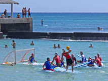 2010 Surf Polo Final Stock Photography