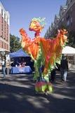 2010 sztuka festiwal Gainesville Obraz Royalty Free