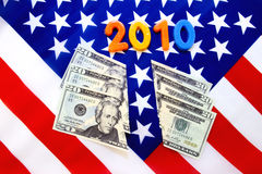 2010, tagli del cittadino Immagine Stock Libera da Diritti