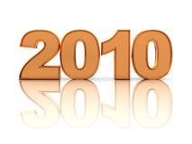 '2010' text Stock Photo