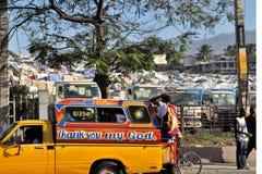 2010 trzęsienie ziemi Haiti Obrazy Royalty Free