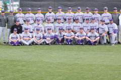 2010 University of Portland baseball team Royalty Free Stock Photo