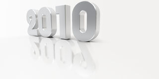 2010 van het nieuwe jaar Royalty-vrije Stock Afbeeldingen