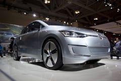 2010 Volkswagen omhoog! concepten auto bij 2010 Autoshow Royalty-vrije Stock Foto